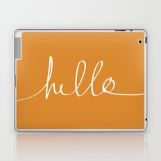 Hello, Pumpkin Laptop & iPad Skin