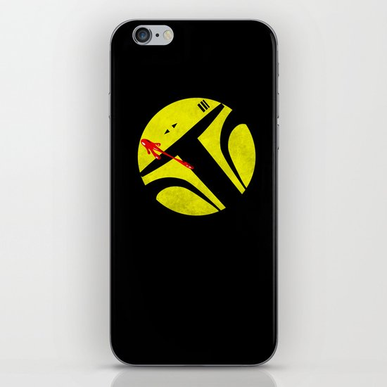 Who Watches the Bounty Hunters? iPhone & iPod Skin