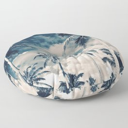 Palm Trees Floor Pillow