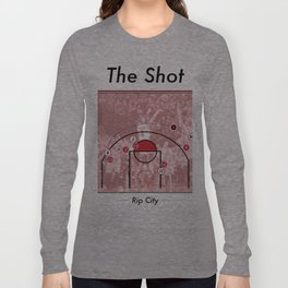 The Shot Series - Damian Lillard Long Sleeve T-shirt