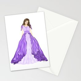 The Purple Dress Stationery Cards