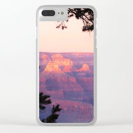Sunset at Grand Canyon 2 Clear iPhone Case