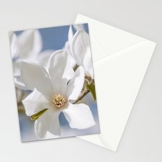 White Magnolia Stationery Cards