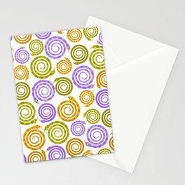 Mesmerizing snakes Stationery Cards