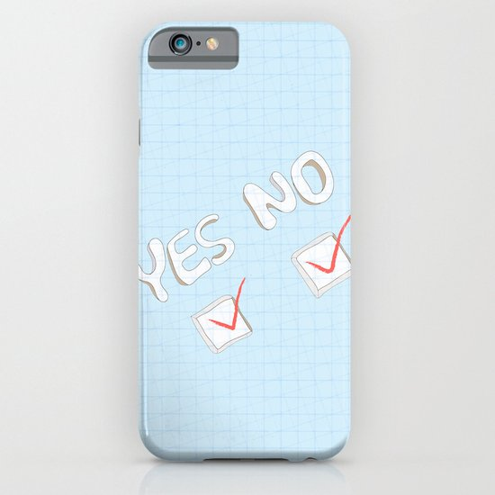 Yes No iPhone & iPod Case