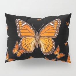 WORLD OF MONARCH BUTTERFLIES Pillow Sham