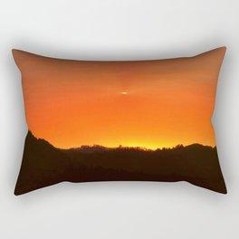 A Hole In God's Canvas Rectangular Pillow
