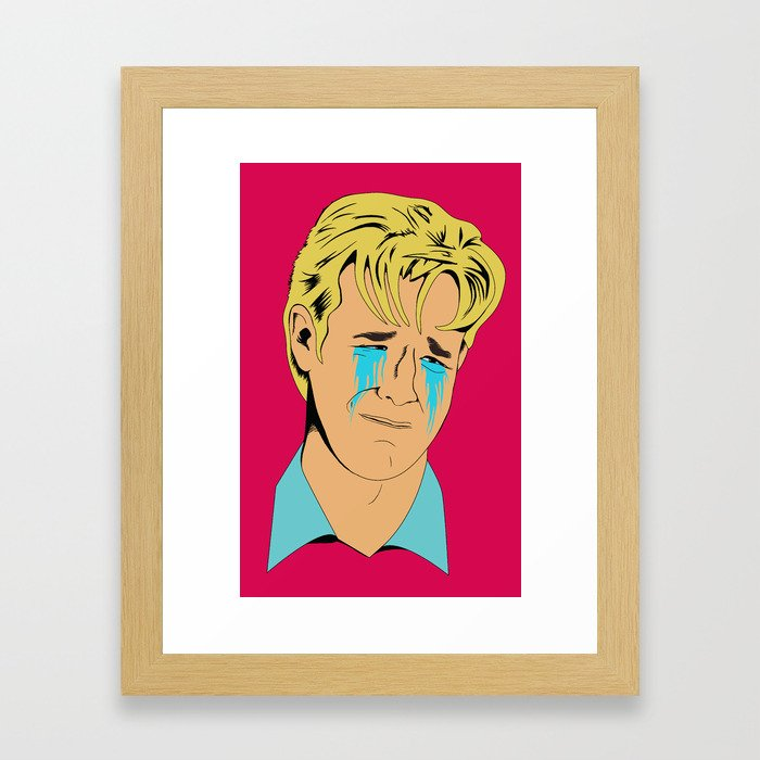 Crying Icon #1 - Dawson Leery Framed Art Print