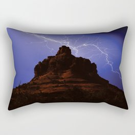 Bell Rock Lightning Rectangular Pillow