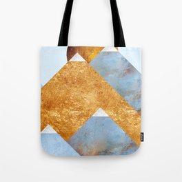 Modern Mountain No5-P2 Tote Bag