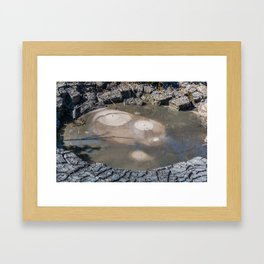 Smile of the Earth Framed Art Print