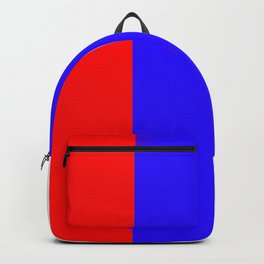 Team Colors 7 ...red white and blue Backpack