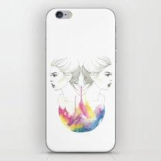zodiac - gemini iPhone Skin