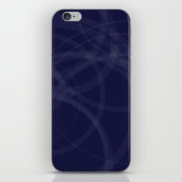 Circles galore iPhone Skin