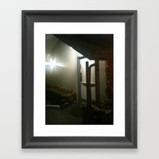 Night Out Somewhere Framed Art Print