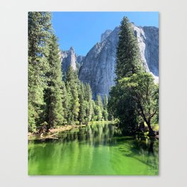 Yosemite Valley Merced River Canvas Print