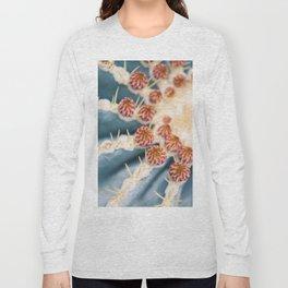 Barrel Cactus Blooms Long Sleeve T-shirt