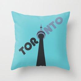 CN Tower - Toronto Throw Pillow