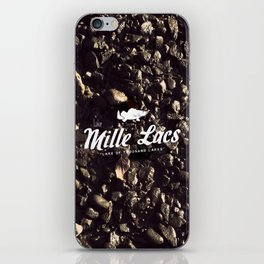 LAKE MILLE LACS iPhone Skin