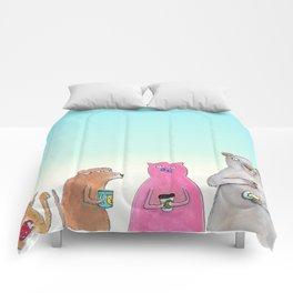 Coffee Squad  Comforters