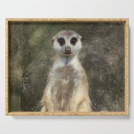 Standing meerkat Serving Tray