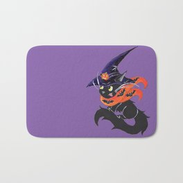 Witch City Kitty Bath Mat