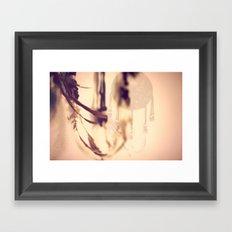Dreamcatcher Feathers Framed Art Print