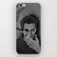 stiles iPhone & iPod Skins featuring nogitsune!stiles by steammmpunk