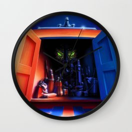 It Came from Beneath the Sink Wall Clock