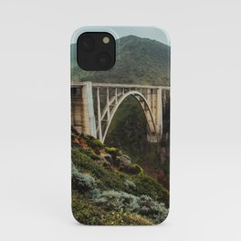 Bixby Bridge | Big Sur California Highway Ocean Coastal Travel Photography iPhone Case