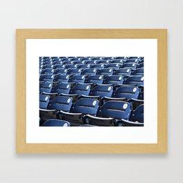 Play Ball! - Stadium Seats - For Bar or Bedroom Framed Art Print