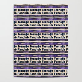 A Teenage Fanclub Poster