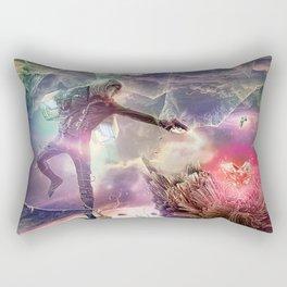 The Heart of Darkness Rectangular Pillow