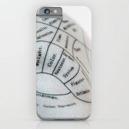 Neatness iPhone Case