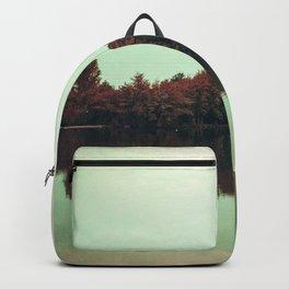 Sparkling red forest Backpack