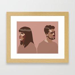 Oh Wonder Without You Art Framed Art Print