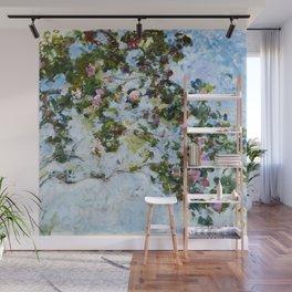 "Claude Monet ""The Rose Bush"" Wall Mural"