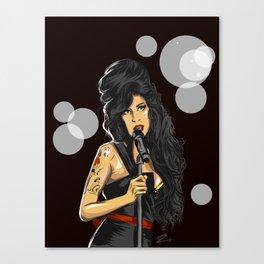 Winehouse, Amy Canvas Print