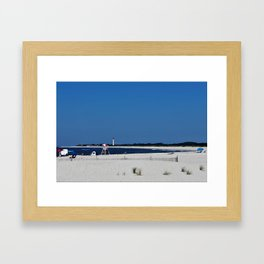 Summer, in spite of itself Framed Art Print