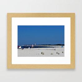 Summer, in spite of itself Framed Art Print