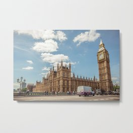 Big Ben & Houses of Parliament Metal Print