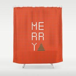 Merry Shower Curtain