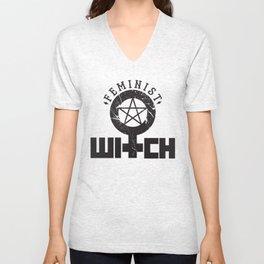 Feminist Witch Unisex V-Neck