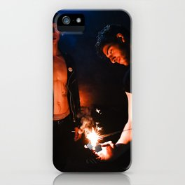 Echoes of the Ongoing Riot iPhone Case