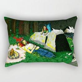 What Do You Think Fox? Rectangular Pillow
