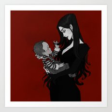A Mother Most Macabre Art Print