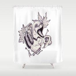 Fox Shower Curtain