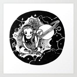 Acid House Alien Art Print