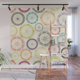 bike wheels Wall Mural
