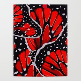 red monarch Poster